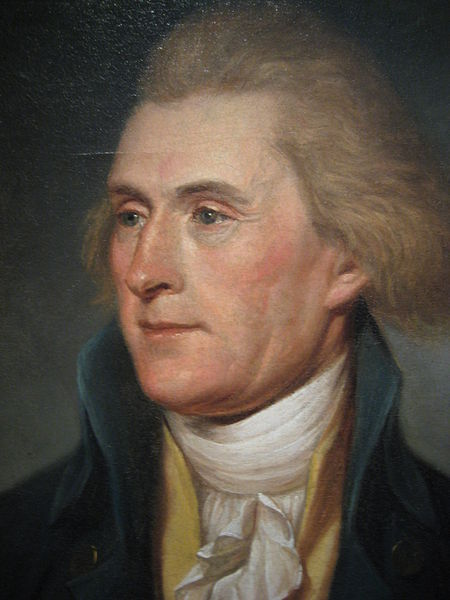 Virginian Thomas Jefferson was instrumental in building the American government. He became the third president of the US. He died the same day  as Bostonian John Adams, the second president of the US. Destiny.