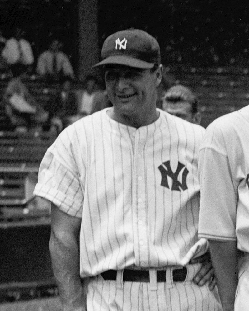 The 'Iron Horse' Lou Gehrig was a key component of the New York Yankees. His name is synonymous in America with dedication, perseverance, and the disease that cut short his life.