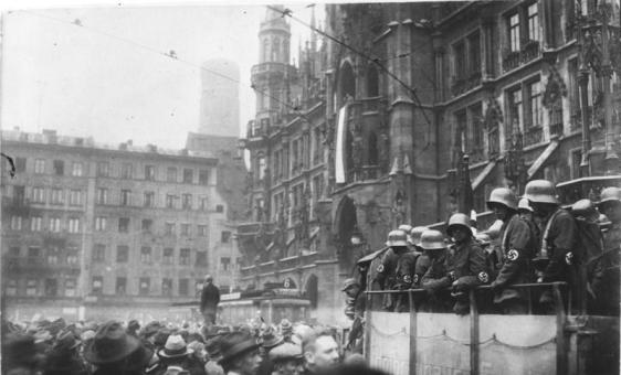 Though unsuccessful, the Nazis led by Adolf Hitler would become a force of terror and death a decade later after their failed attempt to seize power in Munich, in 1923.