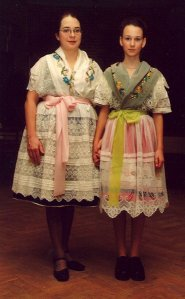 These costumes are from an indigenous Slavic minority near Dresden, the Sorbs. Never heard of them? Neither have most Germans and as for the Bavarians, they'd like to keep it that way. Photo: Wikipedia
